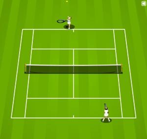おもしろ無料ゲーム「テニス」