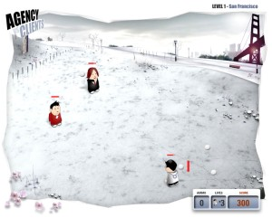 雪合戦フラッシュゲーム