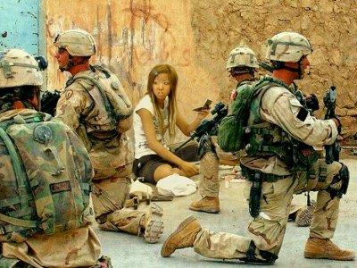 「戦場に女子高生」